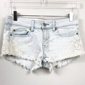 American Eagle Outfitters   Lave Appliqué Shorts